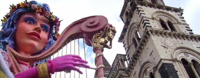 carnevale di acireale barocco - learn Italian in Italy